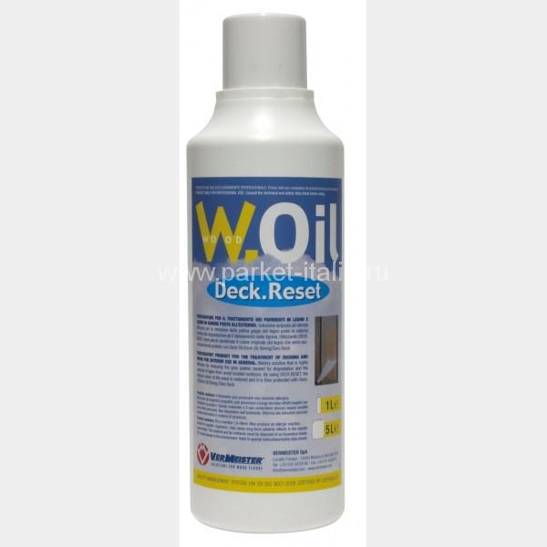Продукт для предварительной обработки деревянных полов и изделий на улице VERMEISTER DECK.RESET