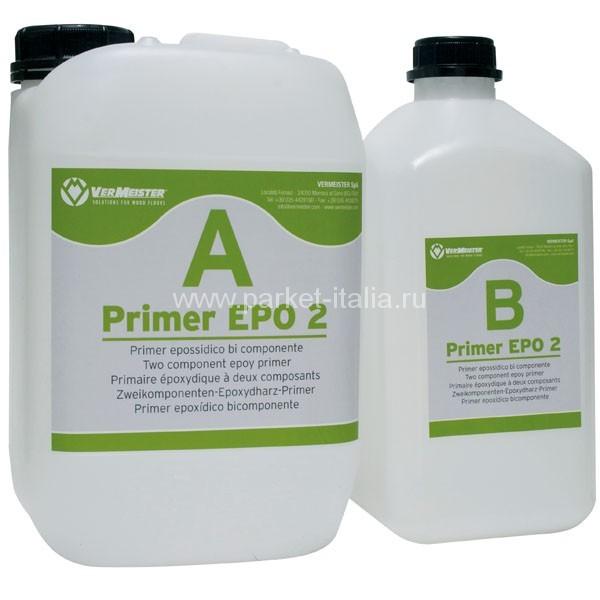 Двухкомпонентный эпоксидный грунт для стяжки  VERMEISTER PRIMER EPO 2